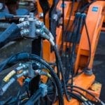 Hydraulic hose failure presents a risk to heavy machinery